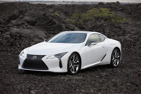 lexus coupe white lexus showcases stunning details of lc coupe in new photos