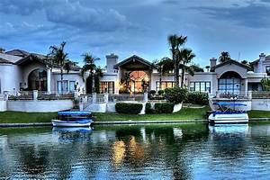 Scottsdale Waterfront Homes - Mediterranean - Exterior