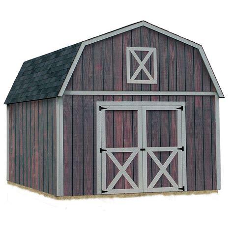 ready built sheds best barns denver 12 ft x 16 ft wood storage shed kit