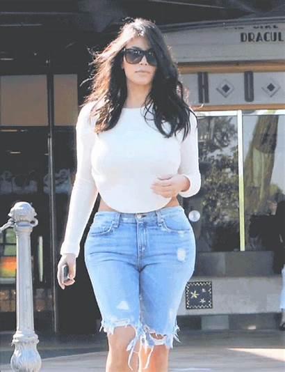 Kim Think Kardashian Extra Shorts Bringing Heels