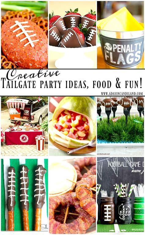 tailgate parties ideas  pinterest tailgate
