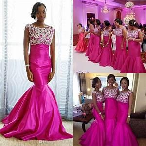 aliexpresscom buy 2016 fuchsia red bridesmaid dresses With fuchsia wedding dress