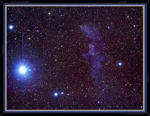 Captured Witch Head Nebula - Pics about space