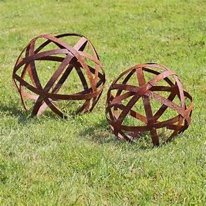 Déco De Jardin : boule arceaux d co jardin en m tal objets d co de ~ Melissatoandfro.com Idées de Décoration