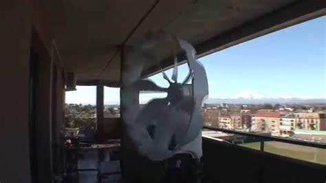 mini eolico da terrazzo eolico 400w di giorno