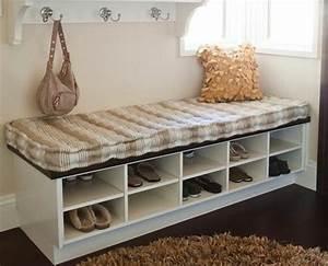 banc pour chaussures maison design wibliacom With meuble entree chaussure vestiaire 12 range chaussures banc cintre et hatstand pour le