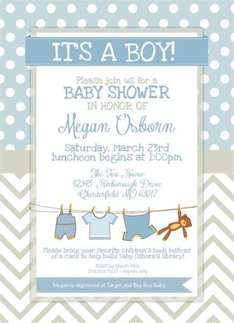 printable baby shower invitation templates  boys
