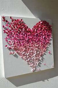 Images about pink ombr? heart frames on