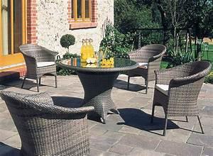 Polyrattan Tisch Rund : sonnenpartner tisch rund 90cm bonaire 80080076 esstisch alumini polyrattan cappuccino ~ Orissabook.com Haus und Dekorationen