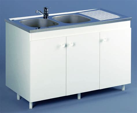 meuble cuisine sous evier 120 cm meuble 120