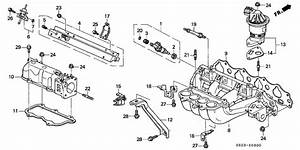 honda accord intake diagram wiring diagram With d16z6 intake manifold diagram