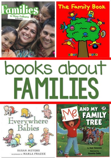 family books for preschoolers pre k pages 237 | family books for preschool