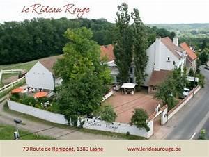 Le Rideau Rouge Lasne 1380 Spectable