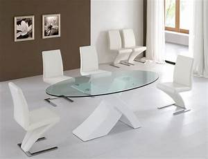 modern-glass-dining-table-round : Luxury Modern Glass ...