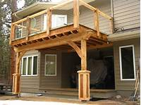 build a porch How to Build a Porch with Roof