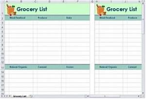 Project Scorecard Template Grocery List Template Grocery Shopping List Template