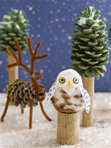 pinecone crafts  decorations youll