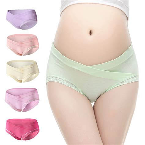Pregnant Maternity Comfortable Low Waist Cotton Briefs
