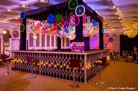 photo  cocktail bar decor idea  pop art theme