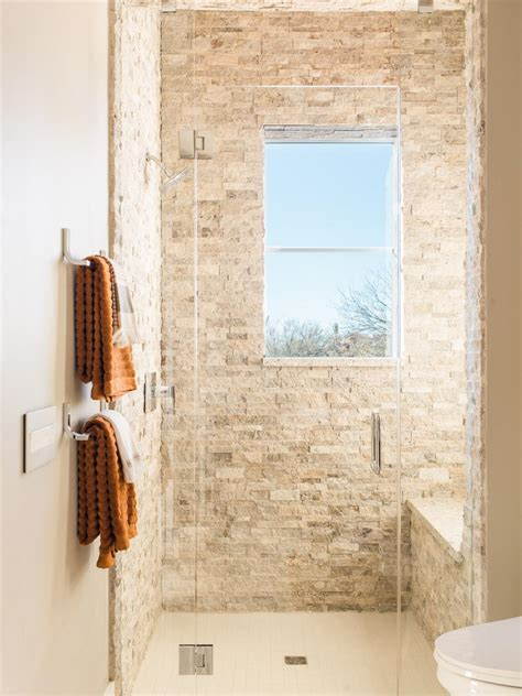 ideas for small guest bathrooms top 20 bathroom tile trends of 2017 hgtv 39 s decorating