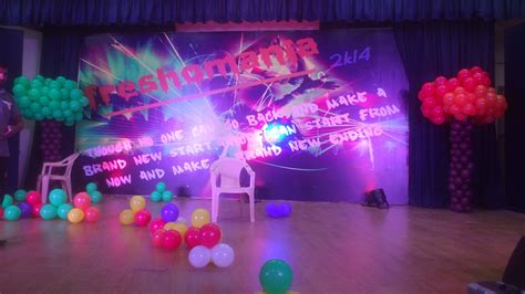 Stage Decoration Ideas For Farewell Party
