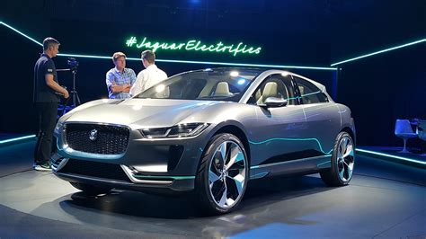 jaguar  pace electric concept  la auto show video