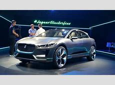 Jaguar IPace electric concept at LA Auto Show video