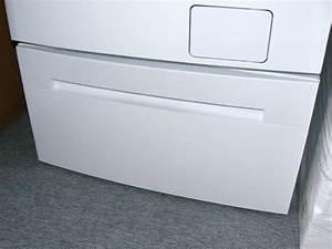 Unterbau Waschmaschine Mit Trockner : erh hung mit schublade f r waschmaschine trockner ~ Michelbontemps.com Haus und Dekorationen