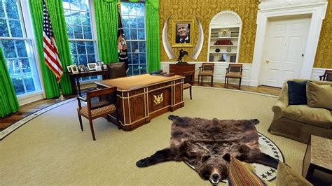 trump donald gold office oval marketwatch