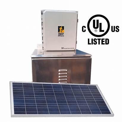 Solar System Crosswalk Powered Controller Ac Control