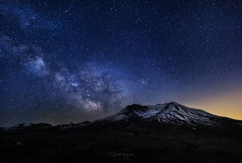 milky   mount st helens     real