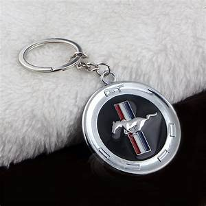 [41% OFF] 2020 Hot Creative Ford Mustang Car Keychain Car Logo Keychain Car 4s Shop Metal Gifts ...