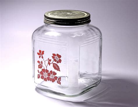 Clear Kitchen Canisters by Glass Kitchen Canisters Decor Studios Charming Anchor