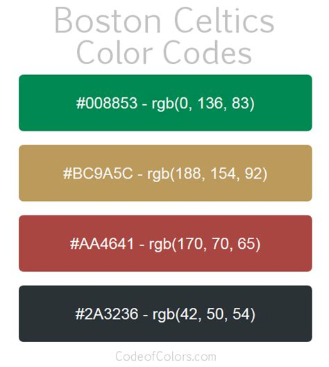 boston colors boston bruins concept color palette
