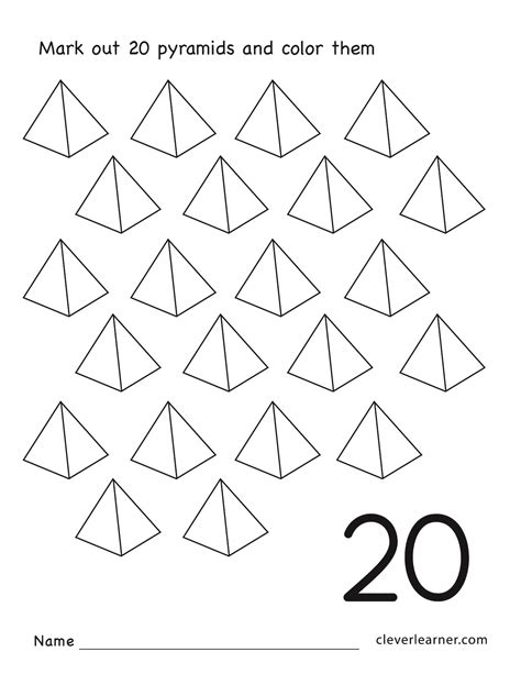 the 20 number preschool worksheets the best free