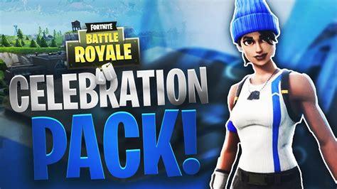 ps celebration pack  fortnite