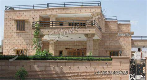 building elevation  front pillars joy studio design