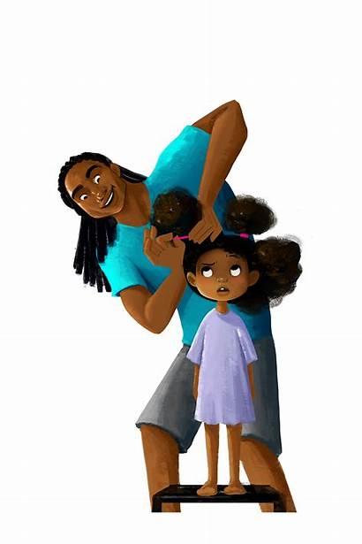 Hair Dad Harrison Vashti Cartoon Doing Matthew
