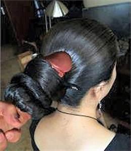 Nice Oily Bun Indian Braided Hair Flickr