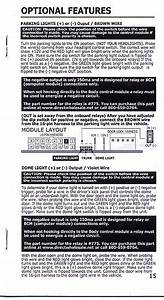 Keyless Entry Wiring    Help
