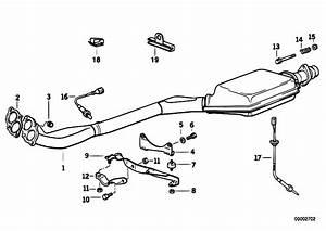 Original Parts For E36 318ti M42 Compact    Exhaust System