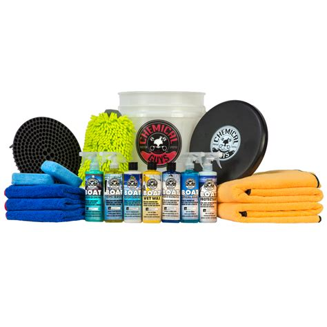 Buy A Boat Kit by Chemical Guys Best Complete Boat And Marine Detailing