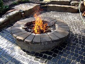 How, To, Build, A, Round, Stone, Fire, Pit