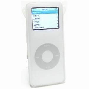 Silicone Skin Cover for 1st Generation iPod Nano - Clear ...