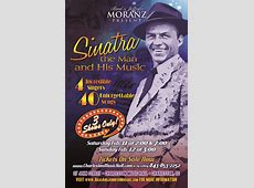 Moranz Entertainment Honors the Songs of Frank Sinatra at