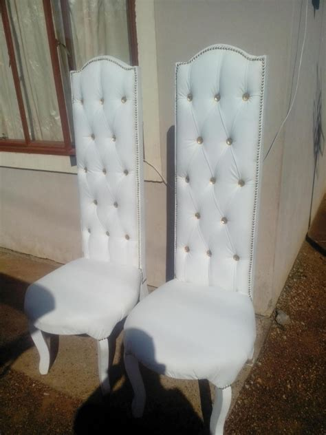 archive his and hers wedding chairs for sale randfontein