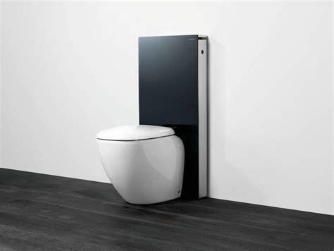cassetta water geberit modulo sanitario in vetro temperato per wc monolith