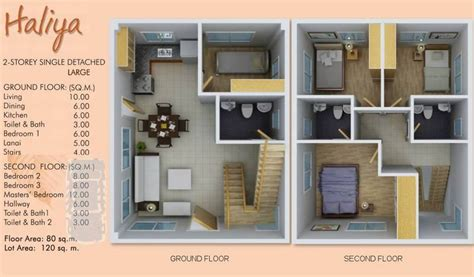 simple  story house plans philippines