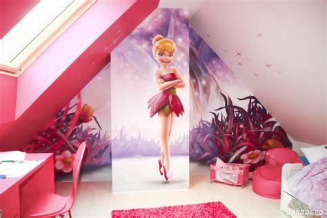 chambre bébé fée clochette chambres de filles décoration graffiti deco