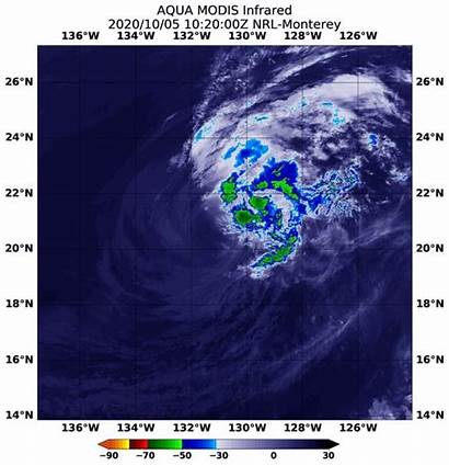 Nasa Infrared Marie Wind Shear Storms Imagery